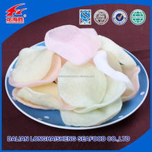 Delicious Crispy Colorful Chinese Prawn Cracker with High quality