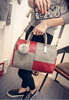 double color design women beutiful luxury hand bags,luxury designer leather bags