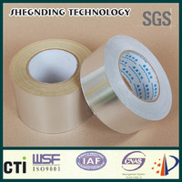 NEW! High initial viscosity No release paper 16um Synthetic Rubber Aluminum Foil Tape
