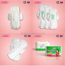 Companies with factory wholesale sanitary napkin OEM ladies Anion Sanitary Pads