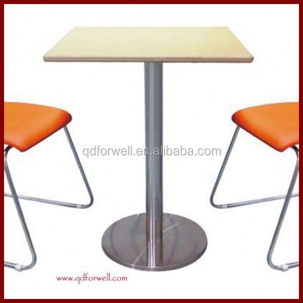 Wooden Stackable Bistro Table Chair Plastic Bistro Table