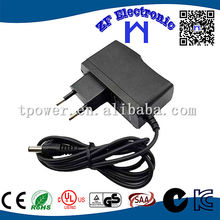 FCC KC GS CUL CE approval 9V 500mA dc adapter use for switching