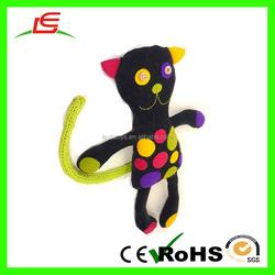 OEM Wholesale Black Stuffed Black Cat Toy For Kids