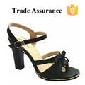 Robe de la dame de fantaisie chaussures/classique, sandales noires