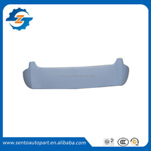 Hot sale high quality ABS material 2011 Jazz Fit car spoiler rear trunk spoiler tailfins for JazzFit 2011