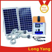 12V DC solar lighting kit,home application led solar lamp for indoor outdoor system