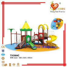 children outdoor plastic slide playsets