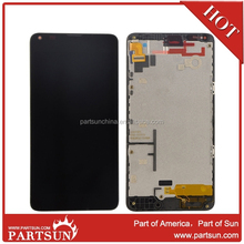 China suppliers for Nokia Lumia 640 LCD Digitizer Assembly with Frame Black Colour