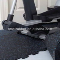 removable interlocking rubber flooring for gym