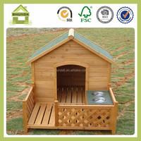 SDD10 solid fir wood dog kennel