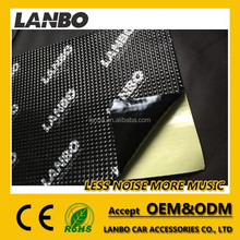 Hot selling high quality self-adhesive Sound Insulation Butyl Foil Car Sound Proofing