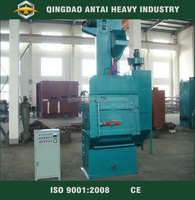 china leading shot blasting machine with tumble blet cleaning price