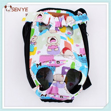 Pet Dog Carrier Bag pet dog Cartoon bear four hole dog backpack