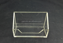 Customized Clear acrylic card stand/acrylic card case