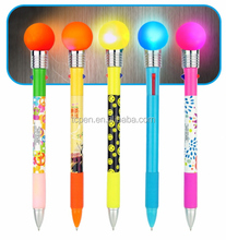 invisible ink pen with uv light stationery in light up pen
