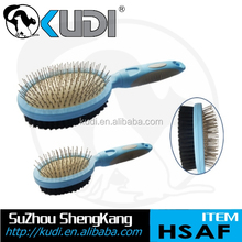 New design grooming product soft handle double sides pet brush