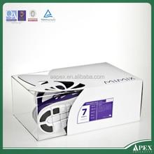 High Quality Transparent Acrylic Sneaker Box /Plexiglass Shoes Display Box /Plastic Nike Running Shoes Display Rack Manufacturer