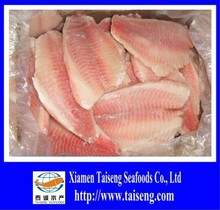 7-9OZ IVP Frozen Tilapia Fillet Red Meat