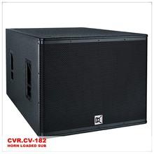 cvr audio system + bass speaker / PA subwoofer