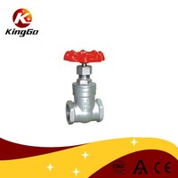 Stainless steel 304 and 316L Industrial threaded gate valve