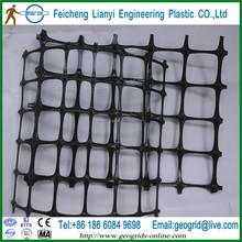 road base reinforcement material,bi-directional-elongation plastic geogrid