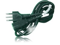 CE & RoHS Female -male plug Italy power cord