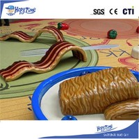 China manufacturer durable indoor playroom equipment