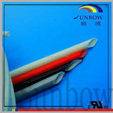 SUNBOW SGS approval 7KV insulated 25mm Silicone coated Fiberglass Sleeves