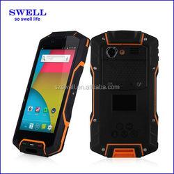 HG04 4G rugged waterproof phone MSM8926 quad core Gorilla Screen 3800mah dual sim rugged handheld PDA unlocked cell phone