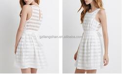 2015 Wholesale Price Women Fashion Sleeveless Evening Dress For