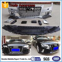 for audi a7 body kit.RS7 body kit + front bumper + front grille + Fog lamp cover+ lower lip + engine shield