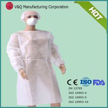 Disposable cheap white surgical gowns new product from China
