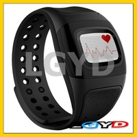 MU3 Wearable Smart watch, Heart Rate Monitor / Activity Tracker / Timer for Android / iOS(Black)