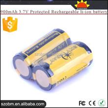 SKY RAY SR16340 900mAh 3.7V Protected Rechargeable li-ion battery 16340