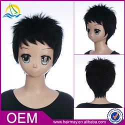 New product kanekalon japanese customizable short hair