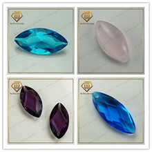 amethyst glass stone light pink AAAAA marquise cut glass cabochon