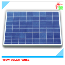 100 watt polycrystalline solar panel
