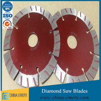 Wet and Dry Cutting Applications Concrete Circular Segmented Diamond Saw Blade