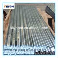 supply colorful galvanized metal roofing