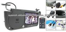 fabricante de alta calidad para parasol dvd con 7 pulgadas tft lcd monitor del coche