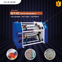 High Speed Automatic Roll Change Stretch Film Rewinding Slitter Machine Price