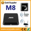 Android 4.4 smart TV Box Quad Core Amlogic 8726 M8 quad core OTT TV Box