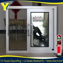 hot sale Australian standards double glazing Residential Aluminum Windows/aluminium sliding windows with mosquito net