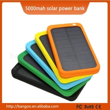 5000mAh Solar Power Bank Solar Phone Charger Cell Charger Good Price