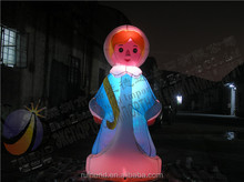Patented LED inflatable Christmas and holiday inflatable products and inflatable