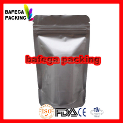 Custom Printed Pet Food / Dried Snack / Vacuum Frozen Food Packaging Plastic Aluminum Foil powder Ziplock Bag
