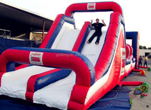 PVC Inflatable Tropical Slip and Slide