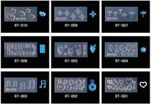 DIY 3D Silicone Nail Art Decorative Nail Mold