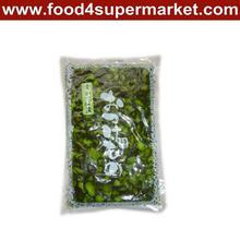 pickled sushi cucumber slice fukujinzuke green, pink, red bag 300g and 1kg for sushi material