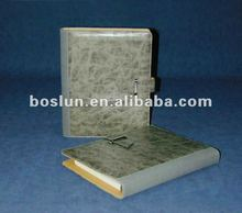 Hotsale PVC promotional note book